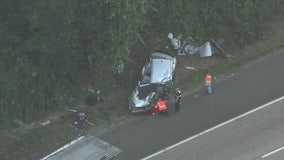 1 killed in Route 42 crash in Gloucester Township Friday morning