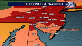 Heat wave peaks Friday as temperatures approach highest levels of the year
