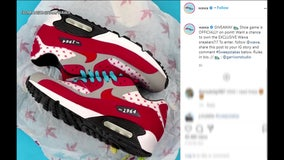 Wawa giving away limited pairs of store-themed shoes