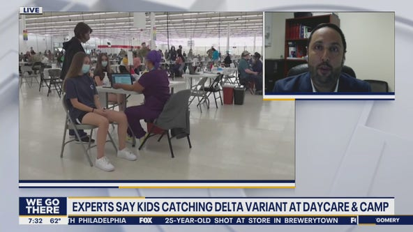 Experts say kids are catching Delta variant at summer camps and day cares