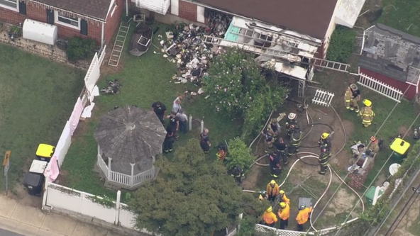 1 dead after house fire in New Castle; Firefighter treated for smoke inhalation