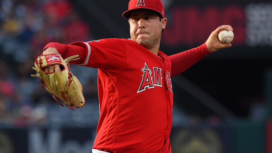 0de73291-Oakland Athletics v Los Angeles Angels of Anaheim