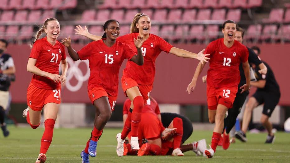 USA v Canada: Women's Football Semifinal - Olympics: Day 10