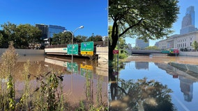 Schuylkill River overflows following night of intense rainfall, damaging storms