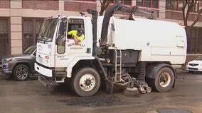 Philadelphia Streets Department continues to clean up mud, debris left behind from remnants of Ida