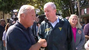 Gov. Murphy tours flood-damaged area in NJ as Biden approves federal aid