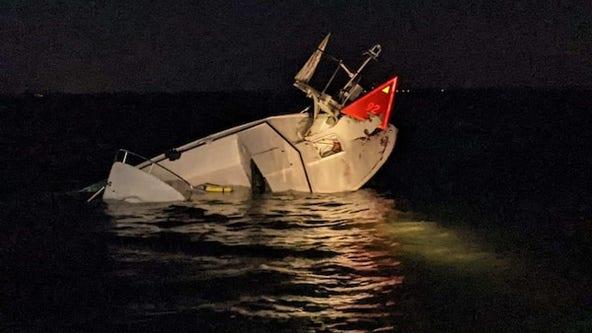 Coast Guard, fire officials rescue 6 from boat crash near Ham Island, N.J.