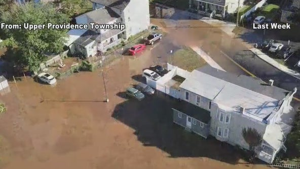 Upper Providence Township residents continue to clean up after remnants of Ida hit area