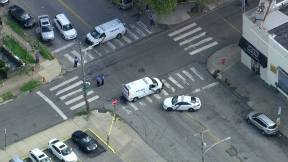 Drive-by shooting leaves 1 dead, 5 wounded in Philadelphia, police say