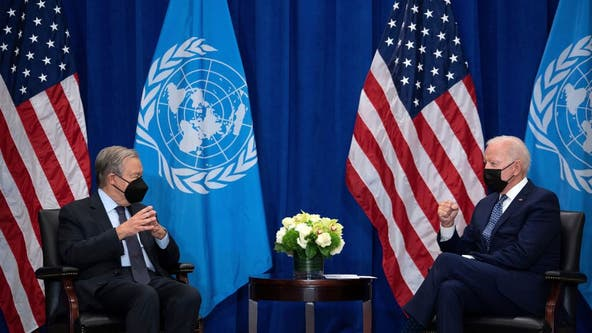 Biden seeks to reassure allies, tackle climate and COVID-19 in UN address