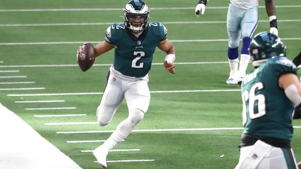 Hurts, Prescott set for first meeting as Eagles visit Cowboys