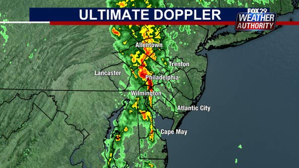 Warnings issued as line of storms brings heavy rain, flooding threats to area