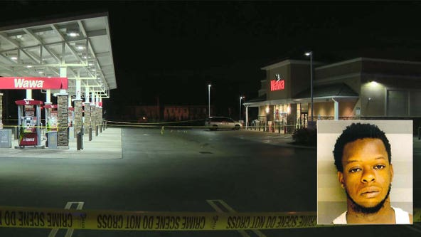 Warrant issued for suspect in shooting outside Wawa that injured 2