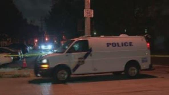 Man shot to death, woman hit by stray bullet in shooting in South Philadelphia