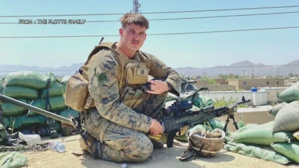 Community shows support for local Marine returning home from Afghanistan