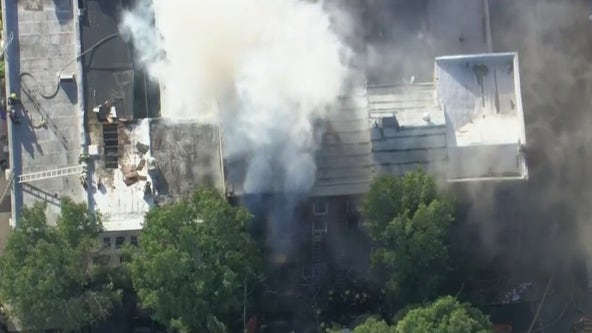 3 firefighters hurt, 24 displaced after South Philadelphia row home fire