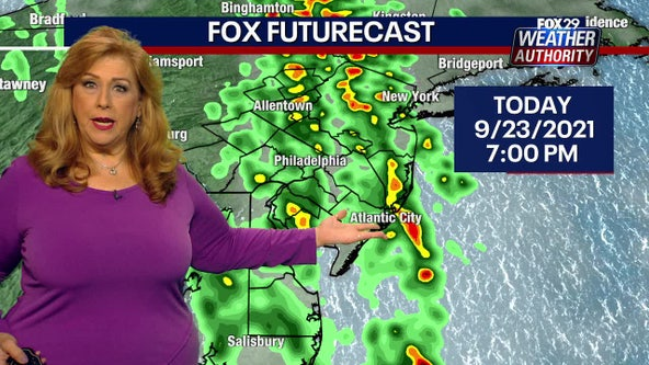 Weather Authority: Heavy rain showers expected to last through Thursday night