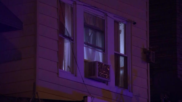 Woman sleeping in bed injured by broken glass when Olney home is peppered with gunfire, police say