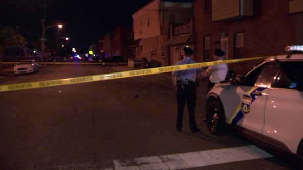 Police: Men hit with barrage of bullets in South Philadelphia double shooting
