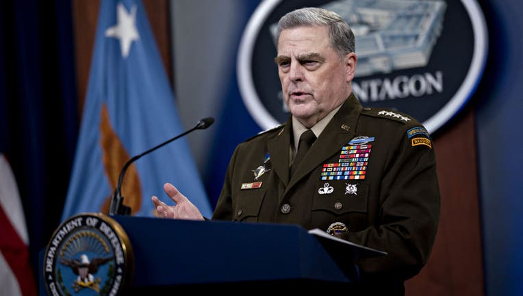 Secretary Of Defense Austin And Joint Chiefs Chairman Milley Hold News Conference