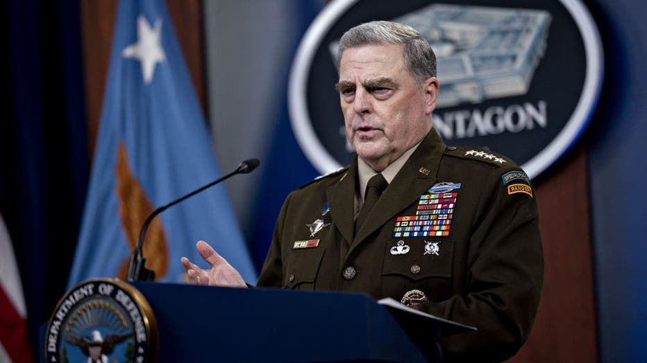 0da6065d-Secretary Of Defense Austin And Joint Chiefs Chairman Milley Hold News Conference