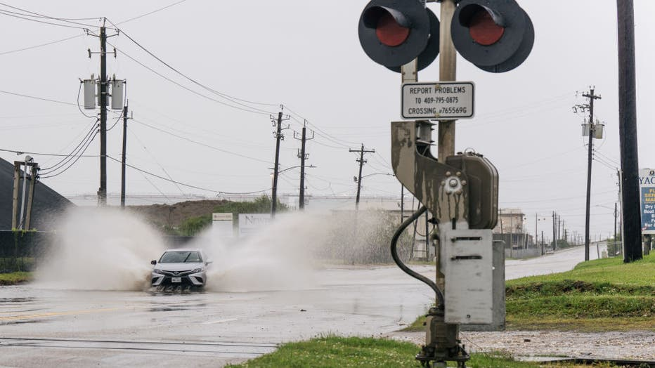 Tropical Storm Nicholas Brings Heavy Rains To Texas
