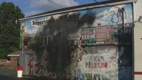 Anti-hate mural vandalized in Berks County