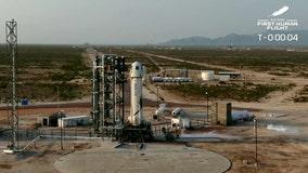 Blue Origin postpones rocket launch over forecasted winds in Texas