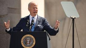 President Biden visits New Jersey to push infrastructure bill, education agenda