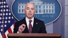 DHS Secretary Alejandro Mayorkas tests positive for COVID-19