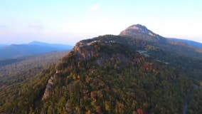 'Like autumn snapped her fingers': Drone video shows leaves in Blue Ridge Mountains