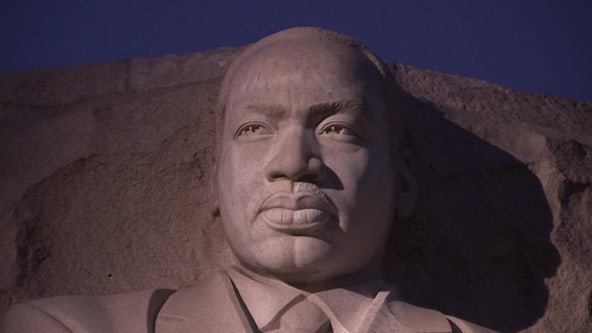 President Biden, VP Harris mark 10th anniversary of Martin Luther King, Jr. Memorial