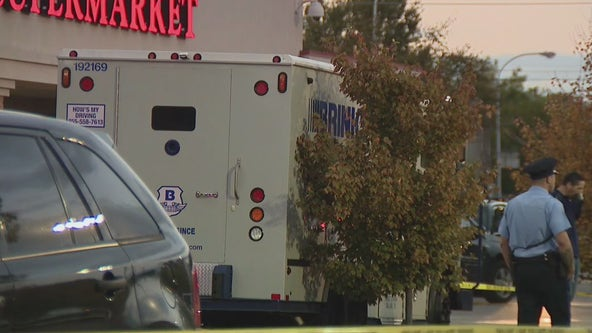 Armored truck driver shoots at would-be robber, police say