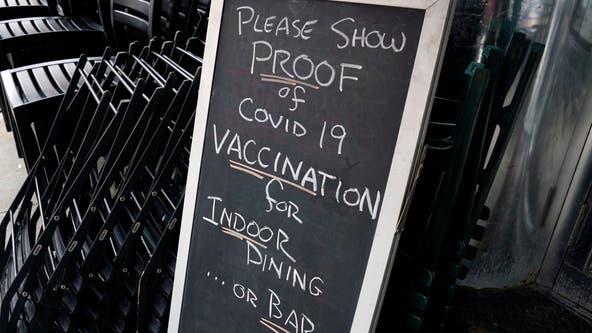 Enforcement of indoor COVID-19 vaccine mandates appears uneven across US