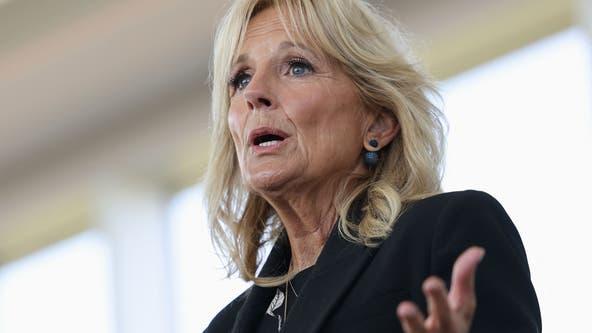 Jill Biden stumps for Murphy in New Jersey re-election bid