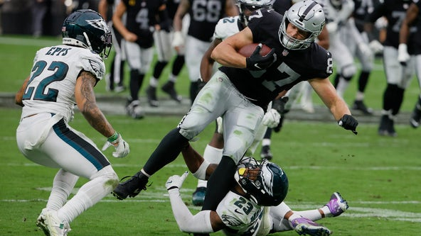 Eagles fall to Las Vegas Raiders 33-22 to collect their fifth loss of the season
