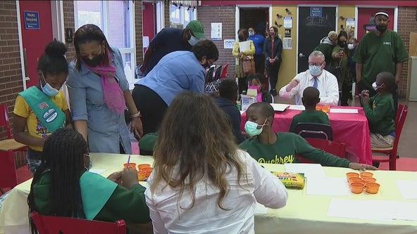 Shining a light on kids safety, Philadelphia promotes Lights on Afterschool