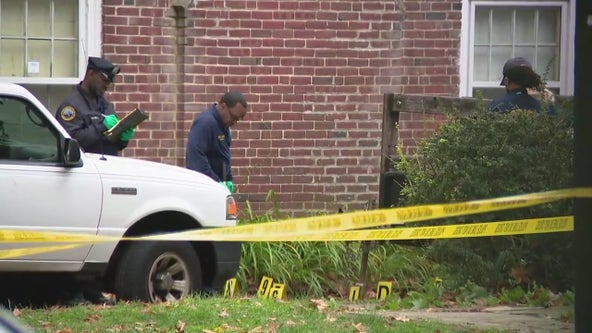 Philadelphia police officer shot following attack by man armed with hammer and pickaxe; suspect dead