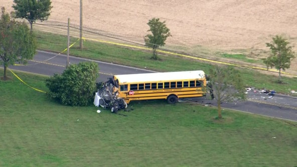 School bus crash in Salem County leaves children with minor injuries, officials say