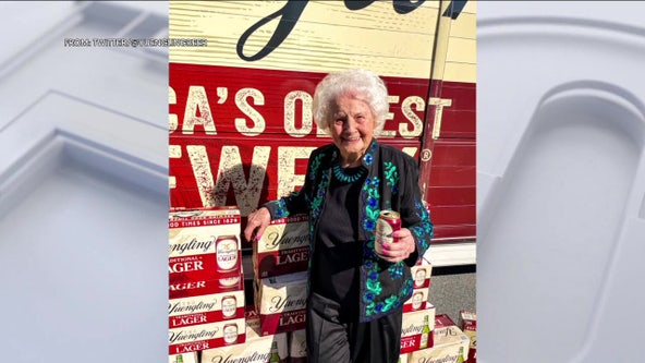 106-year-old Berks County woman credits Yuengling Lager for long life
