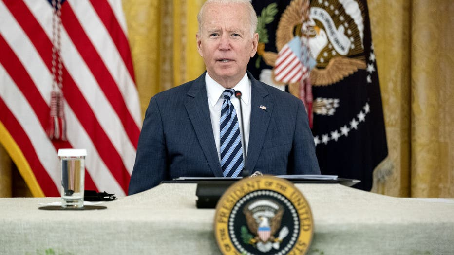 President Biden Holds Meeting On Improving Cybersecurity
