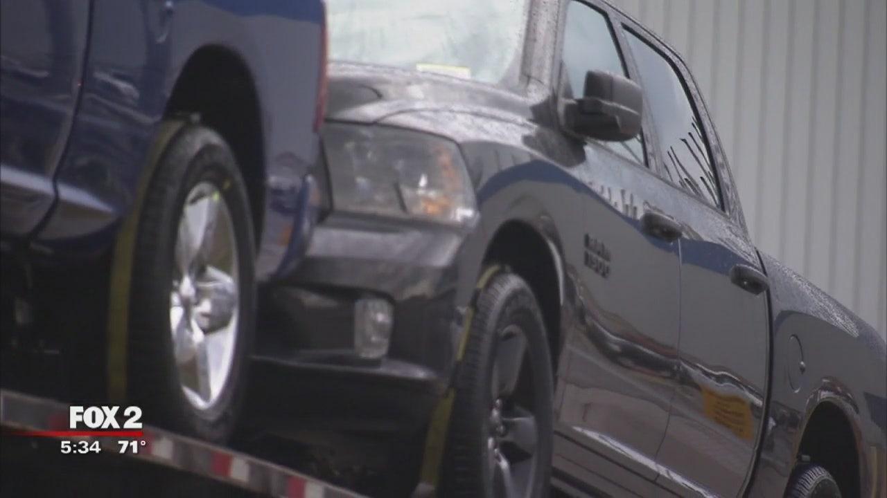 Up to 10 Dodge Ram trucks stolen off Warren Assembly Plant ...