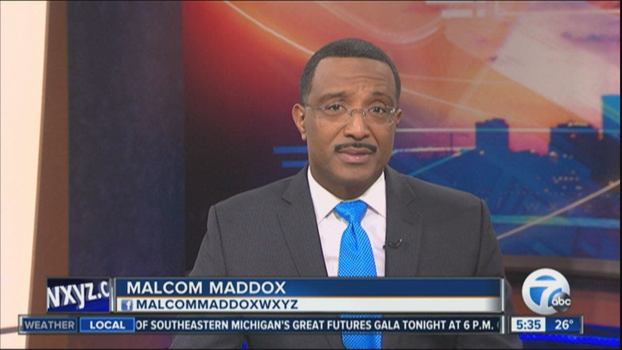 Wxyz Anchor Malcom Maddox Placed On Leave Amid Claims Of Sexual Harassment