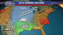 After a scorching 2018, what kind of weather is heading for Michigan's summer in 2019?