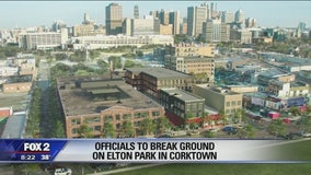 Groundbreaking ceremony for Corktown development