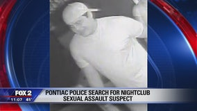 Sex assault suspect wanted after incident at Pontiac nightclub