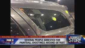 Detroit police issue warnings about paintball shootings around city