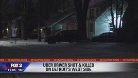 Uber driver shot dead during shift in Detroit