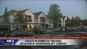 3 dead, 1 child in domestic dispute at apartment complex