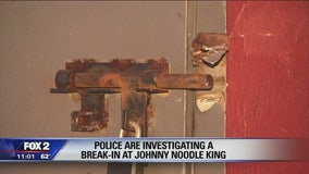 Police investigating break-ins at popular Detroit restaurants